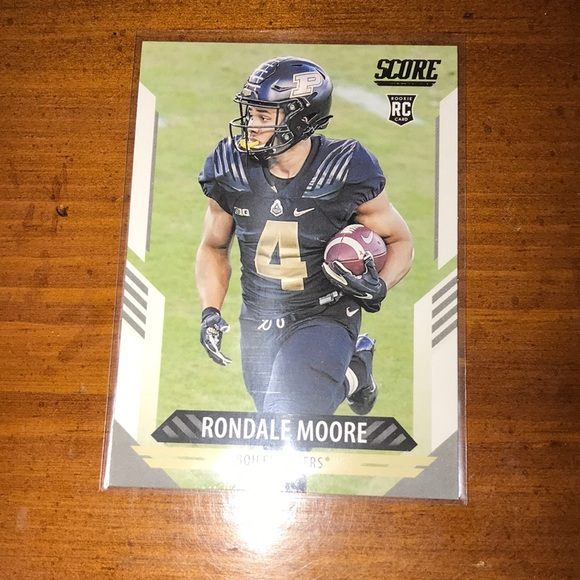 Rondale Moore Panini Score Rookie Card Sports Card